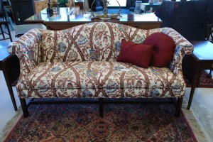 antique replica sofa , sofa for living room and home decorating at charlies antiques in williamsburg va