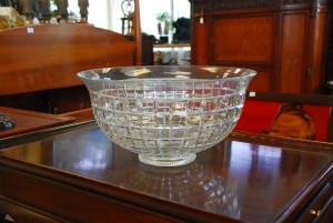 Heisey glass punch bowl in williamsburg va