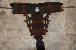 macrame bracelet with ring at charlies antiques in williamsburg va