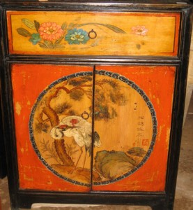 chinese side cabinet at charlies antiques in williamsburg va