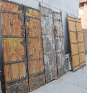 antique architectural doors at charlies antiques in williamsburg va