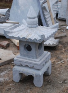 stone lantern for japanese garden at charlies antiques in willliamsburg va