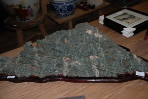 exotic mountain range stone at charlies antiques in williamsburg va