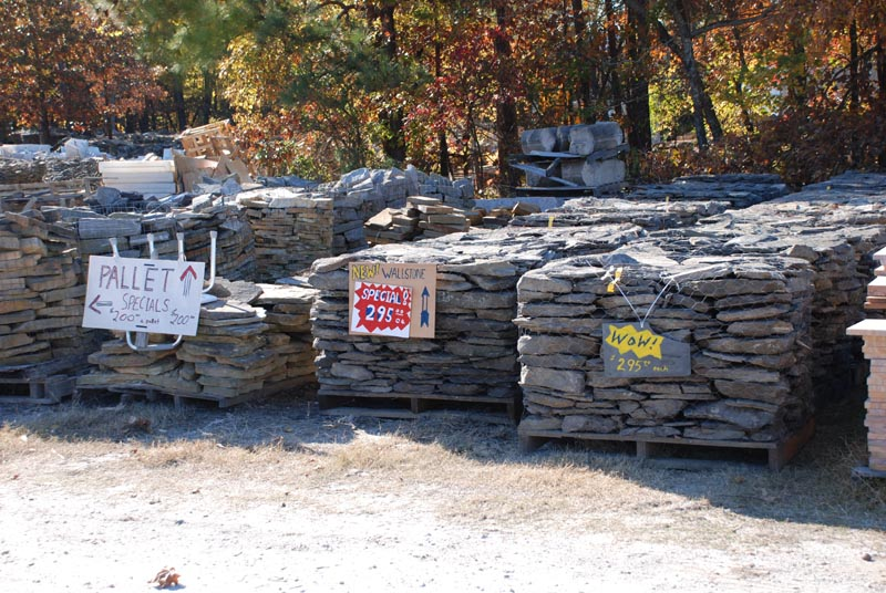 landscaping stone for watergardens,rock walls,natural stone patios,stone walkways at charlies antiques in williamsburg va