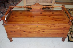 cedar chest at charlies antiques in williamburg va
