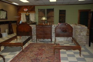 pair of antique twin beds at charlies antiques in williamsburg va