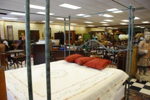 iron king size bed, king verdigri finish iron bed at charlies antiques in williamsburg va