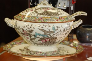 antique soup tureen at charlies antiques in williamsburg va