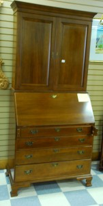 wood secretary at charlies antiques in williamsburg va