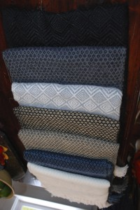 alpaca scarves, wearing apparel at charlies antiques in williamsburg va