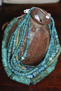turqoise bead necklaces ,stone jewelry at charlies antiques in williamsburg va