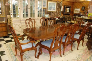 Dining room set with 8 chairs at charlies antiques in williamsburg va