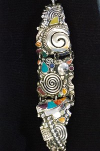 handmade sterling bracelet made in peru at charlies antiques in williamsburg va