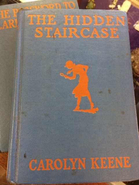 nancy drew books vintage at Charlies Antiques in williamsburg va