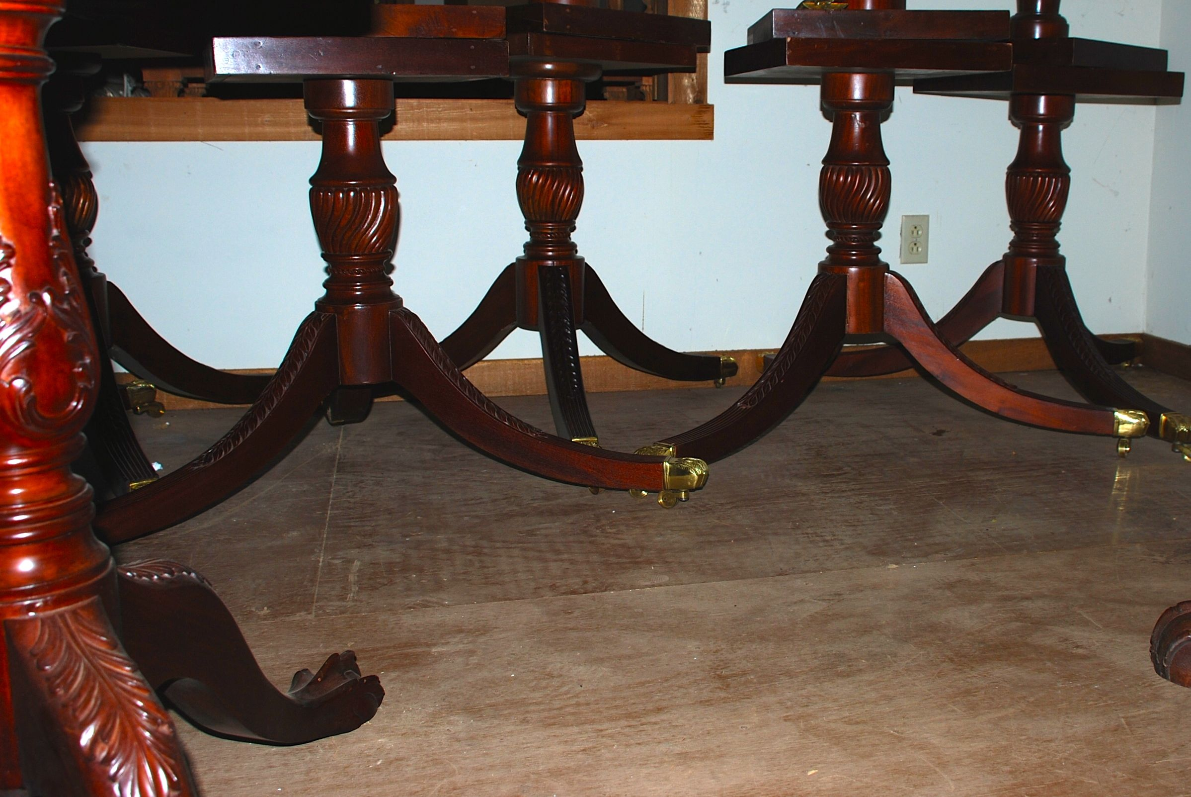F Gany Table Pedestals Handcarved Bases For Furniture Makers At Charlies Antiques Dsc 0165 0169