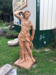 garden statue, antique statue, garden ornament, garden design